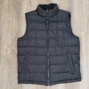 Womens Puffy Black Vest